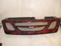 FRONT MESH GRILL FOR SAAB 93. HYDRODIPPED FOR SPORTS LOOK.