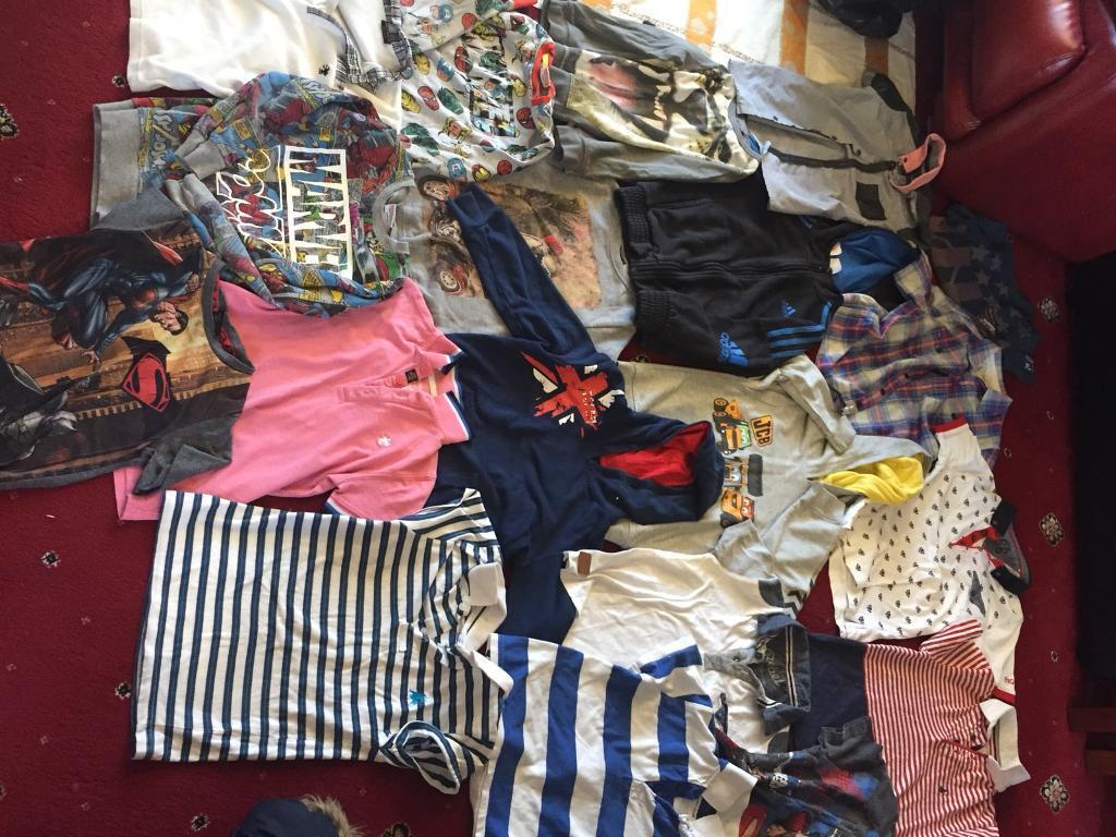 Bundle of boys clothes age ( 6,7,8 years)