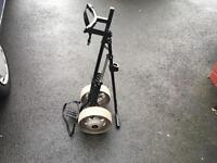 Titleist golf cart trolley. For clubs irons woods & bag