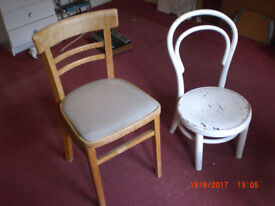 Pair of scruffy chairs