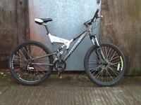 Dawes team edge men's full suspension Mountain bike
