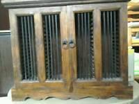 Indian Oak CD cabinet #29573 £49