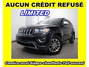 2015 Jeep Grand Cherokee LIMITED 4X4 *FULL* TOIT OUVRANT *0$ COM