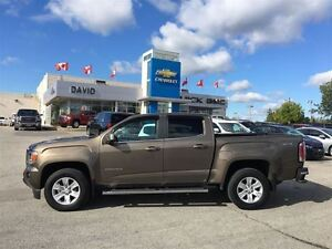 2015 GMC Canyon 4WD SLE 128.3 CREW CAB, SIDE STEPS, LOCAL TRADE!