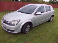 2005 VAUXHALL ASTRA 1.6i CLUB 16v 5 DOOR HATCH BACKBACK. RECENT NEW DRIVEBELT, LONG MOT.