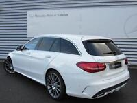 Mercedes-Benz C Class C300 H AMG LINE PREMIUM PLUS (white) 2015-09-04