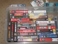 film videos for sale.£5 each and price negotiable.call 07440787126 for more details.