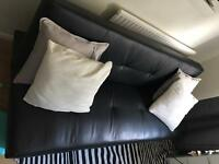 Fault leather sofa bed