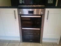 Integrated Bosch Oven and Hob