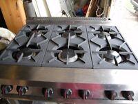 Falcon Dominator, 6 burner + large oven,