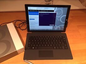 Microsoft Surface Pro 3 128Gb i5 - Boxed with Keyboard and Stylus