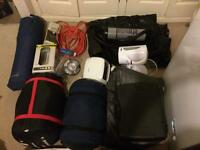 Camping starter set all you need