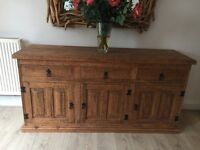 Gorgeous Mexican wood cabinet/sideboard