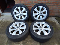 18 inch - Astra GTC wheels+tyres. Only 1 year old - like new