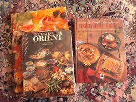 Cook Books x 3-Super Condition Hardbacks