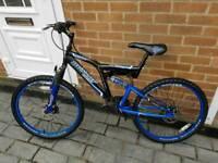 """24"""" wheels Dunlop mountain bike 17"""" frame 16 gears"""