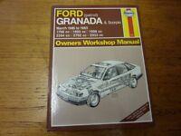 Haynes Granada & Scorpio manual - March 1985 - 1993