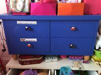 blu childrens cabinet