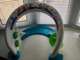 Fisher price bright beats smart touch arch toy centre