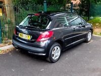 2010 PEUGEOT 207 LOW MILEAGE @74K HPI CLEARED 1 YEAR MOT