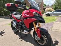 Ducati multistrada 1200s touring 2013 only 9000 miles