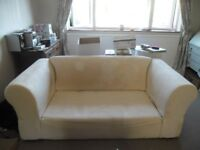 FREE 3-SEATER CONTEMPORARY CHESTERFIELD STYLE KIRKDALE SOFA FOR UPCYCLING/ RE-COVERING.