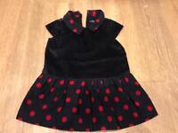 Gap girls party dress 12-18 months