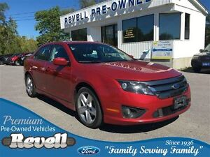 2011 Ford Fusion Sport AWD * Power Moonroof  Heated Leather  Syn