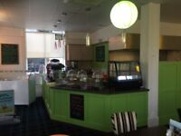 FULLY FITTED CAFE BUSINESS FOR SALE - NEW REDUCED PRICE!!!!