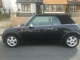Stunning Cherished Black Mini Convertible in AMAZING condition...