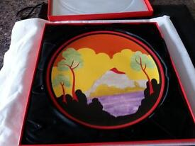 collectable clarice cliff wedgewood plate