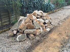 Hardcore/Rubble Broken Concrete Path