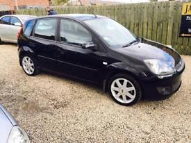 Ford Fiesta Zetec blue edition 08 reg excellent condition 1.2 finance available perfect first car