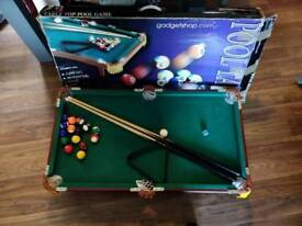 Tableto pool table. Good condition