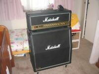 marshall jcm 2000 dsl 50 with 1960 cab and footswitch