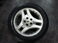 Land Rover Freelander 1 Spare Alloy Wheel with Continental ContiWinterContact TS810 Tyre