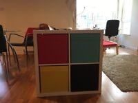 Side table organizing unit