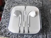 iPhone headphones, in opened and unused