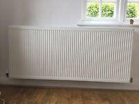 Large double radiator 160x70cm