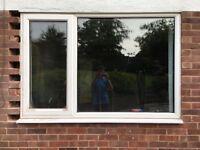 Two double glazed uPVC windows