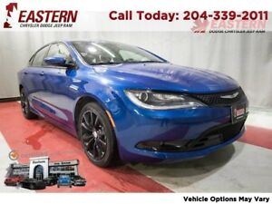 2015 Chrysler 200 S LOADED LEATHER MP3 KEY-LESS ENTRY