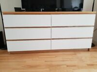Chest of drawers 6 Malm Ikea