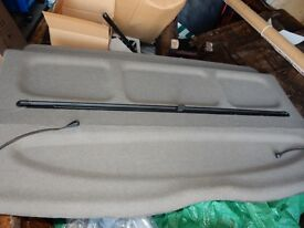 Citroen Picasso Grey parcel shelf with sun blind from 54 model