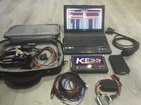 Full remapping and diagnostic kit including Asus netbook and Kess v2 interface
