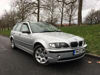 2002/02 REG BMW 325I SE AUTOMATIC ESTATE LEATHERS £1790