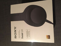 BRAND NEW - SEALED - Sony MDR-100AAP High Resolution Overhead Headphones -Black