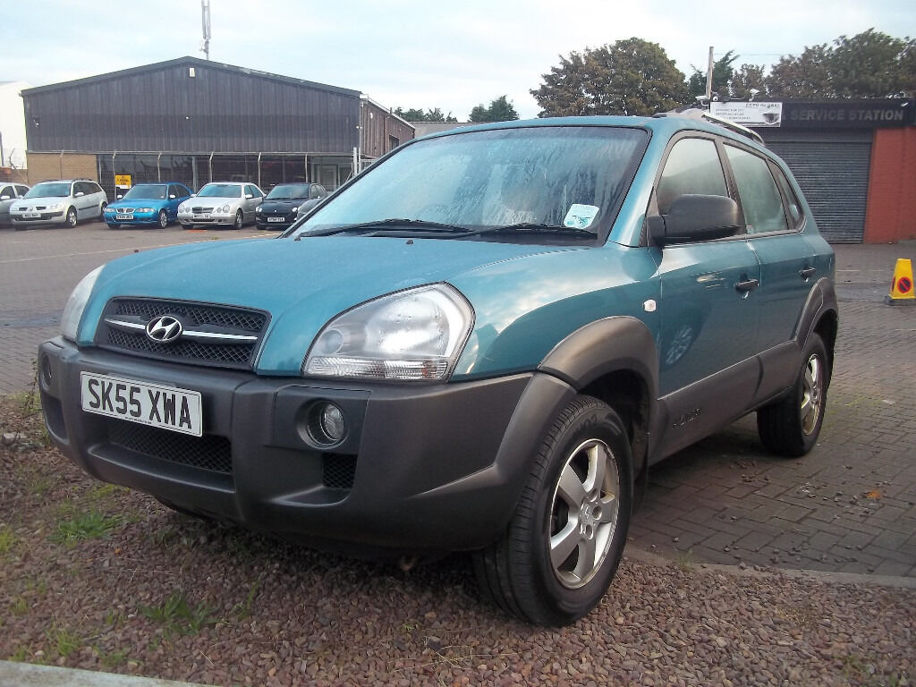 55 plate late 2005 hyundai tuscon jeep low milage 2017 MOT EXCELLENT CONDITION NICE SPEC ONLY £199