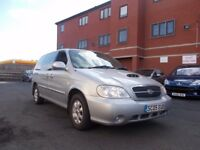 KIA Sedona 2.9 CRDi SE 5dr 7 seats new clutch PX TO CLEAR 3 months warranty 2005
