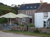 Young enthusiastic staff needed in kitchen and front of house of small but busy bar, Isles of Scilly