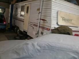 American caravan 2003 Fleetwood Terry 50th anniversary special
